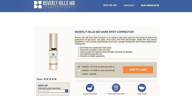 Beverly hills md dark spot corrector does it work or scam beverly