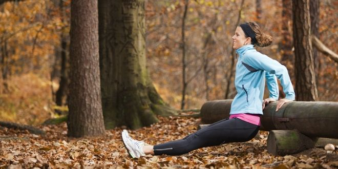 Fall for fitness